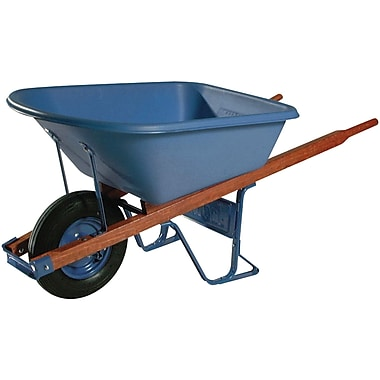 Jackson Professional Tools® 6 cu. ft. Contractors Wheelbarrow With Flat Free Tire