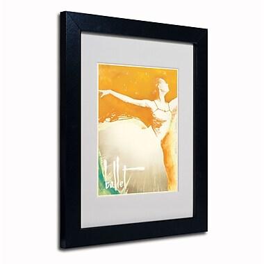 Trademark Anderson White Matte W/Black Frame