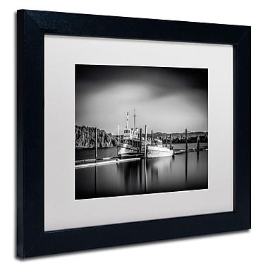 Trademark Erik Brede White Matte W/Black Frame