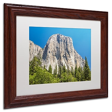Trademark Pierre Leclerc White Matte W/Wood Frame