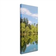 "Trademark Philippe Sainte-Laudy ""Lake Maix"" Part 2 Gallery-Wrapped Canvas Art, 8"" x 24"""