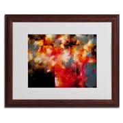 Trademark CH Studios Dreamscape Art, White Matte W/Wood Frame, 16 x 20