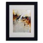"Trademark CH Studios ""Fallen Light"" Art, White Matte W/Black Frame, 11"" x 14"""