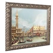 """Trademark Canaletto """"The Molo Venice"""" Ornate Framed Art, 11"""" x 14"""""""