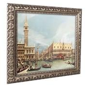 """Trademark Canaletto """"The Molo Venice"""" Ornate Framed Art, 16"""" x 20"""""""