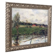 "Trademark Paul Gaugin ""Brittany Landscape, 1879"" Ornate Framed Art, 11"" x 14"""