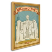 "Trademark Anderson ""Washington, DC"" Gallery-Wrapped Canvas Art, 18"" x 24"""