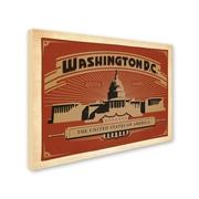 "Trademark Anderson ""Washington DC II"" Gallery-Wrapped Canvas Art, 18"" x 24"""