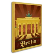 "Trademark Anderson ""Berlin, Germany"" Gallery-Wrapped Canvas Arts"