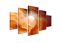 Trademark Moises Levy 'Smooth II' Gallery-Wrapped Canvas Art Set, 3.6' x 2.8'