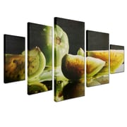 """Trademark Cecile Baird """"Ripening"""" Gallery-Wrapped Canvas Art Set, 3.6' x 2.8'"""