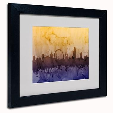 Trademark Michael Tompsett White Matte W/Black Frame