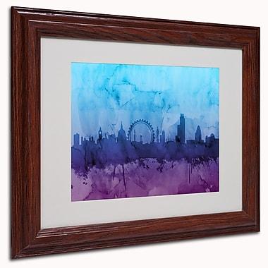Trademark Michael Tompsett White Matte W/Wood Frame