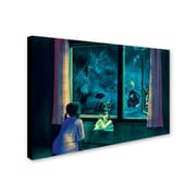Trademark Erik Brede Bedtime Stories Gallery-Wrapped Canvas Art, 12 x 19