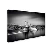 "Trademark Erik Brede ""Lake Oyeren III"" Gallery-Wrapped Canvas Art, 16"" x 24"""