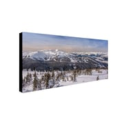 "Trademark Pierre Leclerc ""Whistler Winter"" Gallery-Wrapped Canvas Arts"