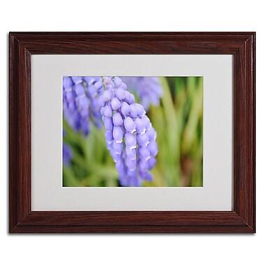 Trademark Monica Fleet White Matte W/Wood Frame