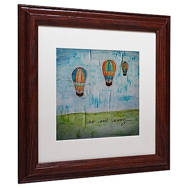 Trademark Nicole Dietz White Matte W/Wood Frame