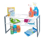 Stalwart Adjustable Under Sink Shelf Organizer Unit