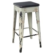 Moe's Home Collection 29.5'' Bar Stool; White