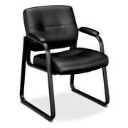 Basyx VL690 Series Guest Leather Chair