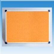 Golden Panda, Inc. Cork Note Whiteboard; 3' H x 4' W