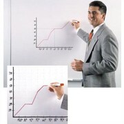 Ghent Wall Mounted Magnetic Whiteboard; 4' x 8'