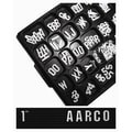 AARCO Universal Single Tab Gothic Typeface Changeable Letters (330 characters per set); 0.75''