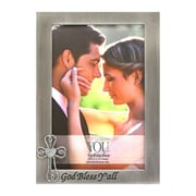 Fetco Home Decor Wedding Alliance Gos Bless Y'All Picture Frame