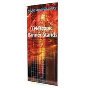 Exhibitor's Hand Book Uno Telescopic Banner Stand; 48''