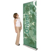 Exhibitor's Hand Book Multiple Size Orient Banner Stand; 31.5''