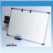 Golden Panda, Inc. Ergonomics Writing Wall Mounted Magnetic Whiteboard; 2' H x 3' W