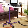 InRoom Designs Laptop Cart Stand; Purple
