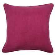 Kosas Home Simone Cotton Throw Pillow; Berry