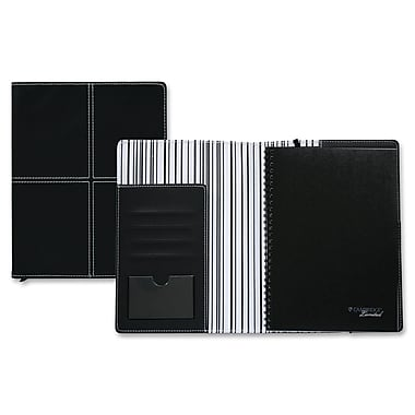 Hilroy Refillable Cover Business Notebook, 6-2/3