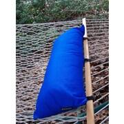 Twin Oaks Hammocks Sunbrella Hammock Outdoor Bolster Pillow; Pacific Blue