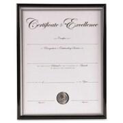 DAX MANUFACTURING INC.                             Backloading Certificate Frame; Black