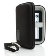 USA Gear Hard Shell Carrying Case For 5 GPS Navigation Units, Portable Hard Drives, MP3 Players and More