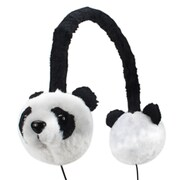 GOgroove® Groove Pal KDZ Over-Ear Headphones With Kids Safe Volume Limiting Sound, Panda