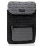 USA Gear FlexARMOR X Protective Sleeve Carrying Case with Weather-Resistant Neoprene For 11.1 Tablets, Black