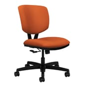 HON Volt Wood Computer and Desk Office Chair, Armless, Tangerine (HON5721HCU46T)
