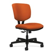 HON Volt Fabric Computer and Desk Office Chair, Armless, Tangerine (HON5723HCU46T)
