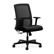 HON Ignition Low-Back Task Chair, Center-Tilt Fabric Black