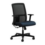 HON Ignition Low-Back Task Chair, Center-Tilt Fabric Blue