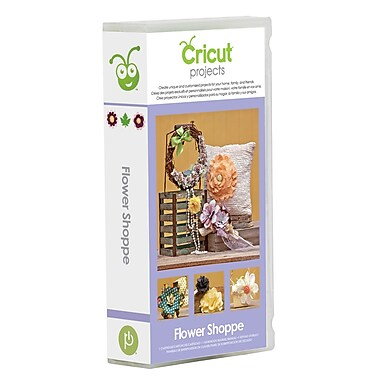 Cricut Project Cartridge, Flower Shoppe