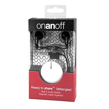 Onanoff LoveBuds with White Magneat (RED-MAG-001), White