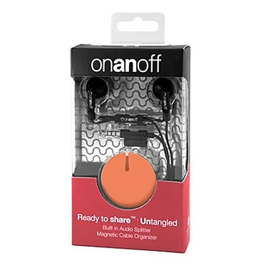 Onanoff LoveBuds with Orange Magneat (RED-MAG-007), Orange