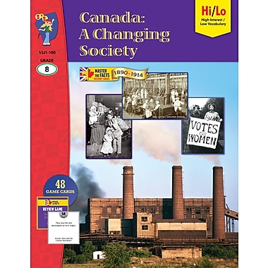 Canada: A Changing Society, 1890-1914, Grade 8