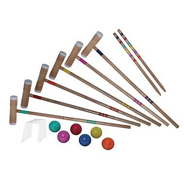 Verus Sports Expert Emerald Adjustable Croquet Set