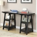 Convenience Concepts Designs2Go Double Trestle Writing Desk